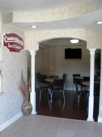 Country Hearth Inn Atlantic City/Galloway: Breakfast Area