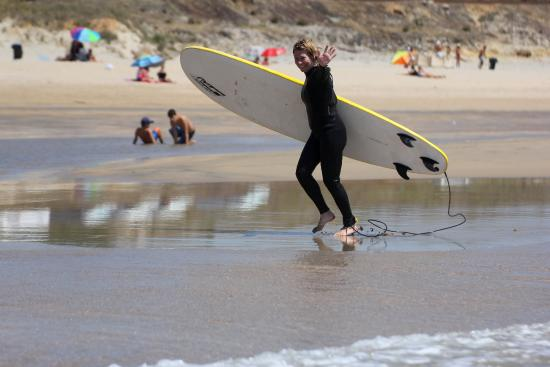 Alentejo Surf Camp: Happy after the first experience in surf