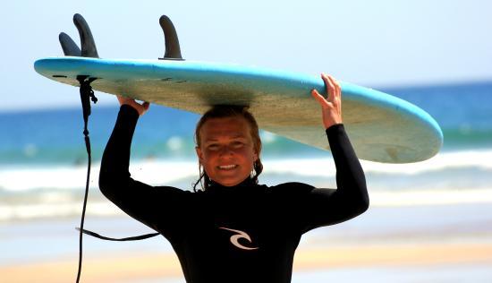Alentejo Surf Camp: Happy Elsa