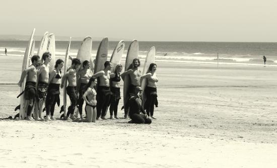 Alentejo Surf Camp: Our group photo