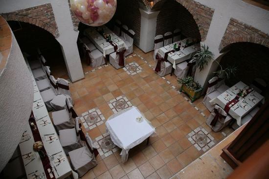 Skala Hotel: Aereal Interior