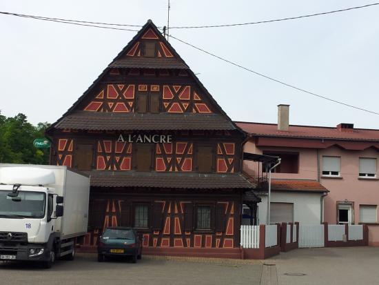 Hotel a l'Ancre: Frontansicht Hôtel à l'Ancre in Mothern