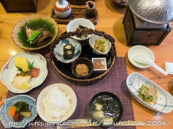 Tokiwaso: 朝食