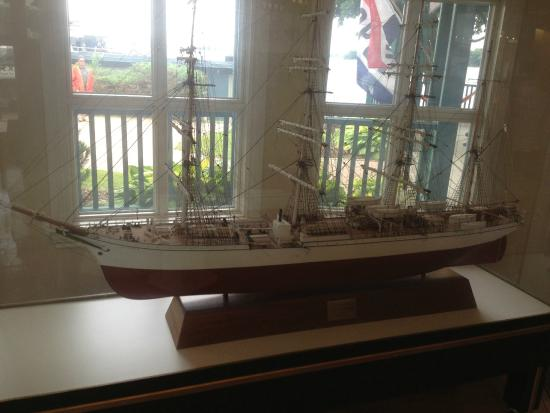 Gananoque, Καναδάς: Arthur Child Heritage Museum - ship model