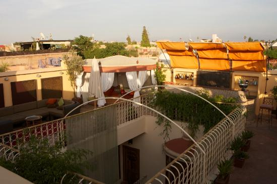 Maison MK: View from the rooftop terrace