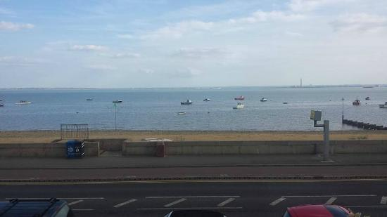 The Waverley Guesthouse: The view from the room
