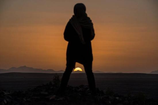 Ksar Bicha: Lever de soleil