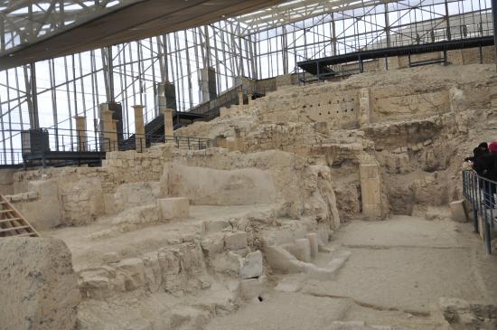 Excavations at Zeugma - Picture of Zeugma Mozaik Muzesi ...