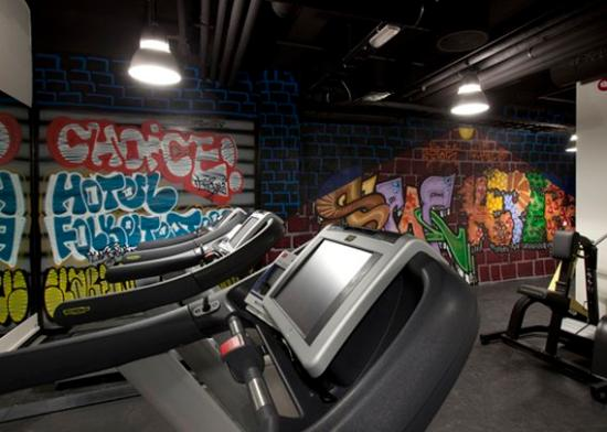 Clarion Collection Hotel Folketeateret: Gym