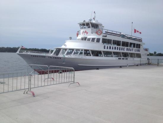 Gananoque Boat Line - our boat