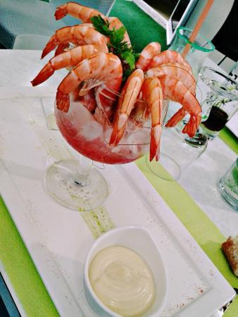 Les Jardins de l'Estran: Crevettes premium