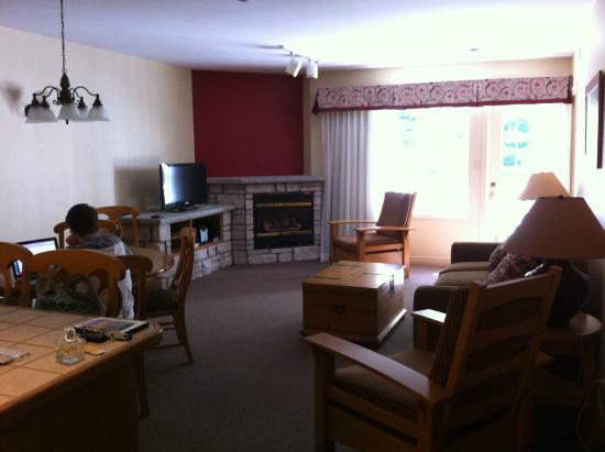Carriage Hills Resort: Living room area