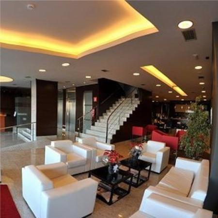 Hotel Mexico Vigo: Lobby View