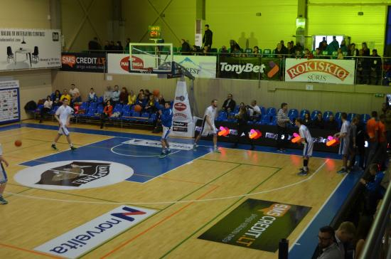 "Basketball hall in homestead ""Karpyne"""