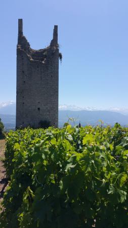 Chignin, Γαλλία: Une des tours ...