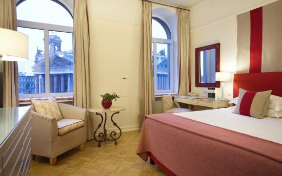 Angleterre Hotel: Hotel Room