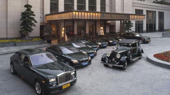 The Peninsula Shanghai: Hotel Limousine Fleet