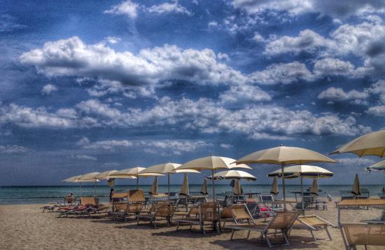 Bagno Club Milano: La spiaggia