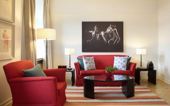 Angleterre Hotel: Junior Suite