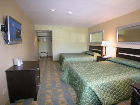 Pleasant Valley Motel Houston: Guest Room - Remodeled