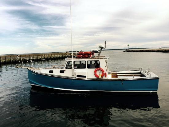Unique Lobster Boat Converted to Beautiful Yacht - Picture ...