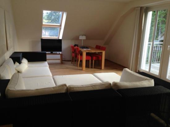 Wellness-Suite, Wohnzimmer - Bild von B&O Parkhotel, Bad Aibling ...