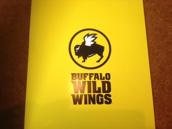 Buffalo Wild Wings - menu