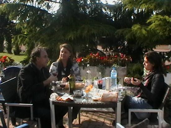 hotel adelie : picnik no hotel