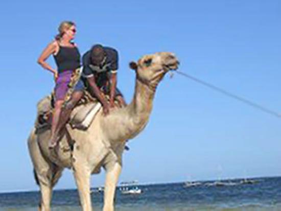 Kenya Bay Beach Hotel : Beach