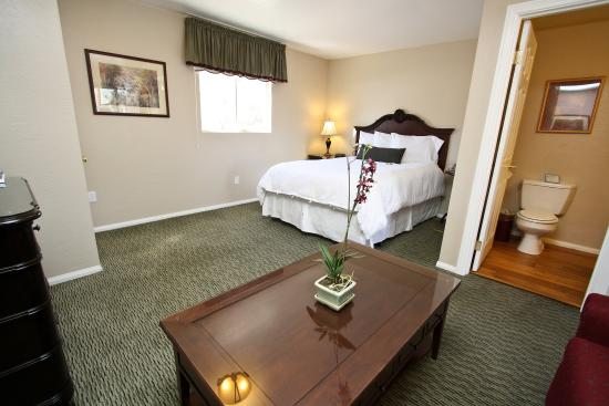 Bay Meadows Resort: Studio Cabin 101, queen bed