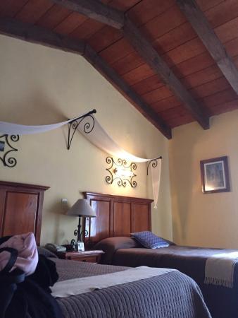 Hotel Casavieja: Cálido y muy cómodo. Un hermoso ex convento convertido en hotel, sin perder su esencia.