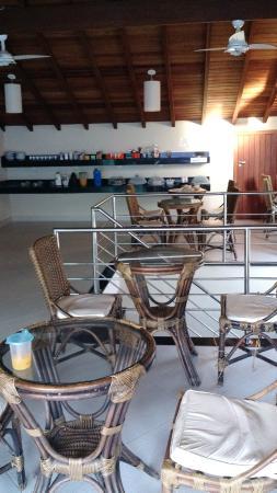 Pousada Brisa Do Forte: Restaurante hotel.