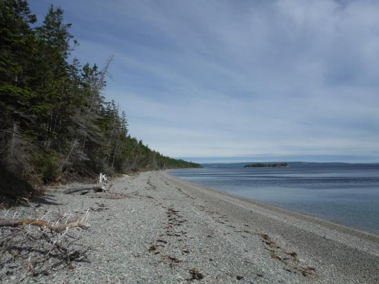 St. Peter's, Canada: view of the beach