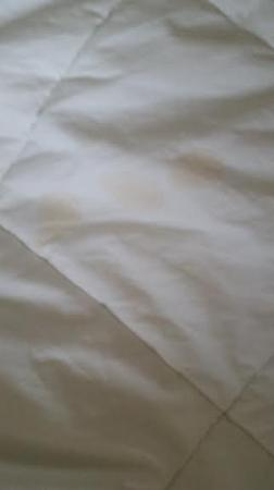 Sleep Inn & Suites : Stains on the sheets