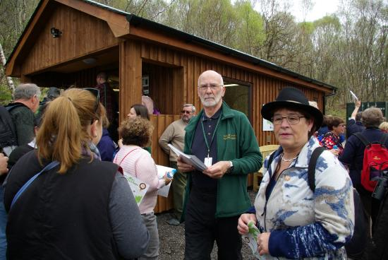 Highland Titles Nature Reserve: Stewart at the Visitor Centre