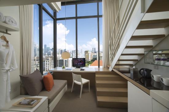 Studio M Hotel: executive loft