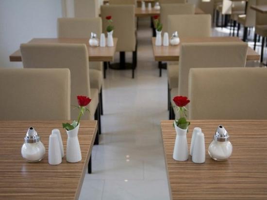 nu hotel berlin: Restaurant