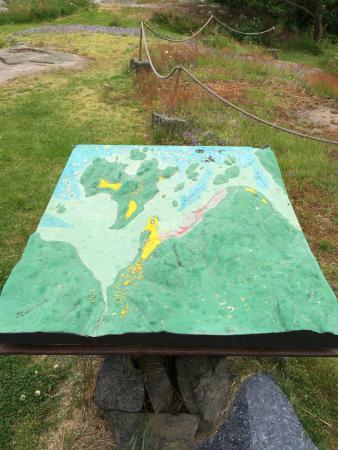 Larvik Municipality, Noruega: Kart