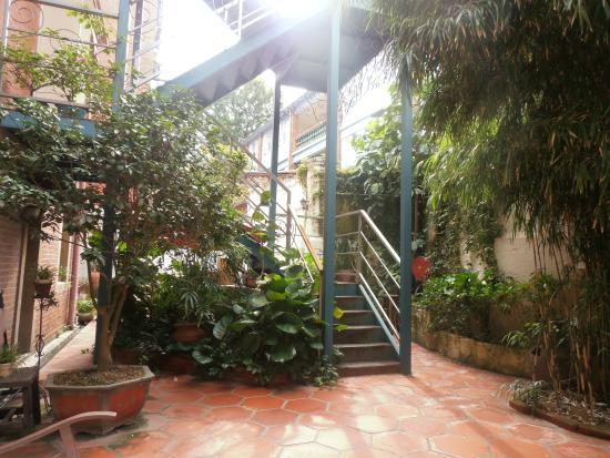 Conch Hotel: le jardin est un endroit de paix totale