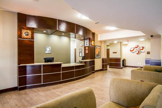 Sleep Inn & Suites Shreveport: Lobby