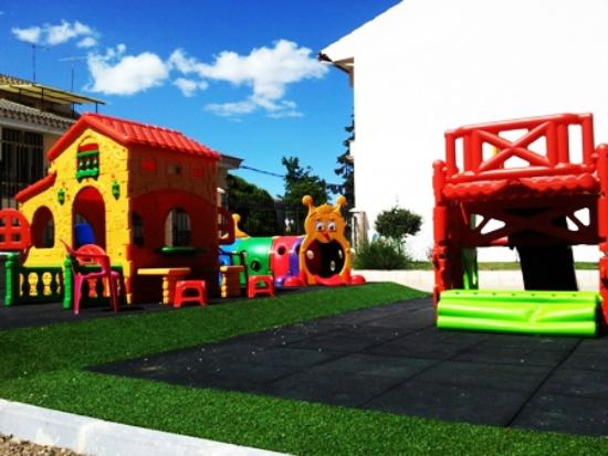 Refugio Convento de Maria: Parque Infantil