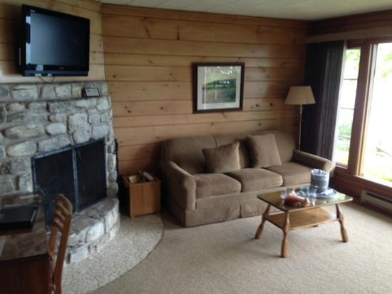 Baileys Harbor, WI: Fireplace