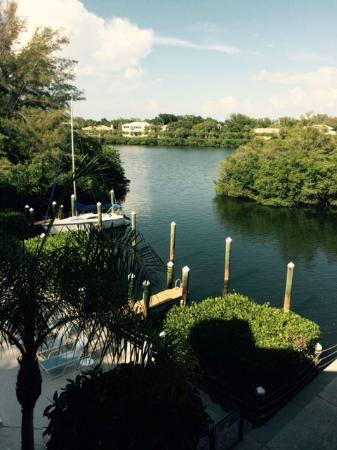 Longboat Bay Club: Crane's Bay from room