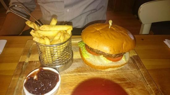 Caley Hall Hotel: Yummy dinner!