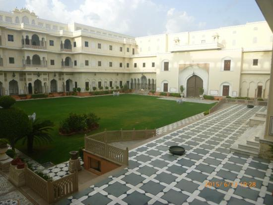 The Raj Palace Grand Heritage Hotel: Rear Courtyard