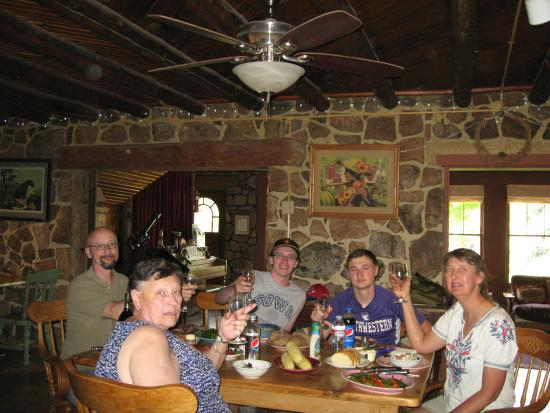 The Black Range Lodge: We hosted a 70th Birthday Dinner for my MIL
