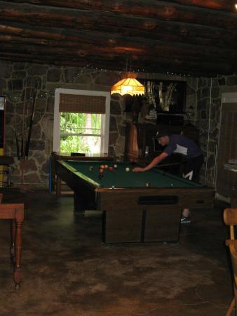The Black Range Lodge: ...the other son found the pool table/ping pong table