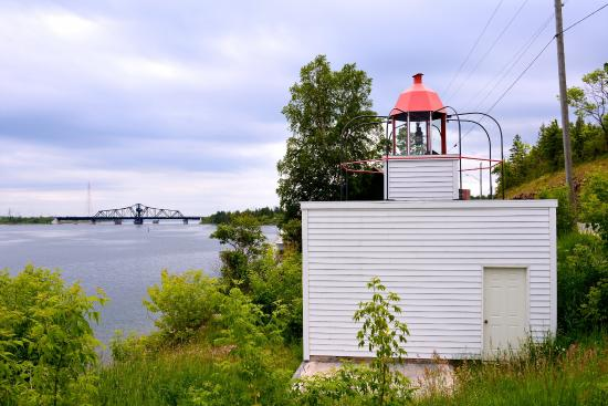 Little Current, Canada: Bird-Cage Lighthouse