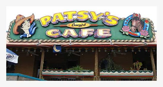 Patsy's Cowgirl Cafe: Outside view Patsy's