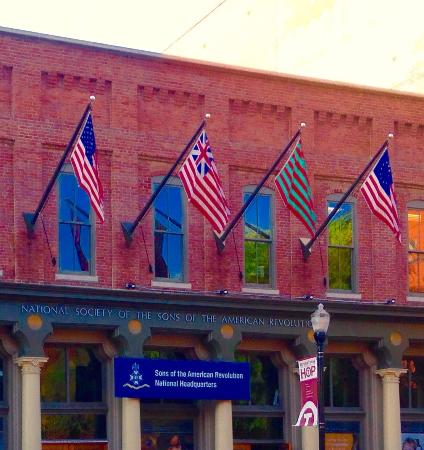 Sons of the American Revolution Genealogical Research Library: New HQ Entrance